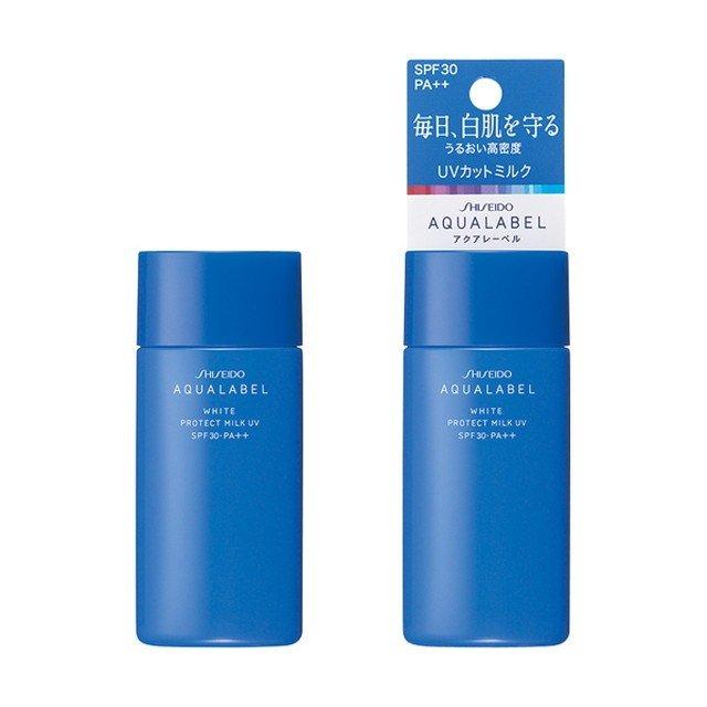 Sữa dưỡng da chống nắng Shiseido Aqualabel white protect milk UV