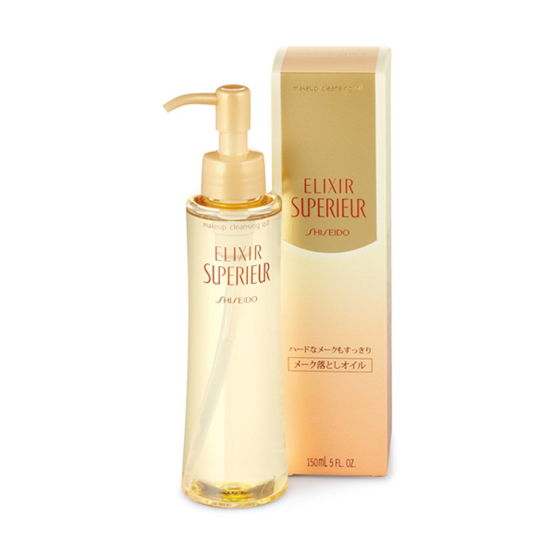 Dầu tẩy trang Shiseido Elixir Superieur makeup cleansing Oil