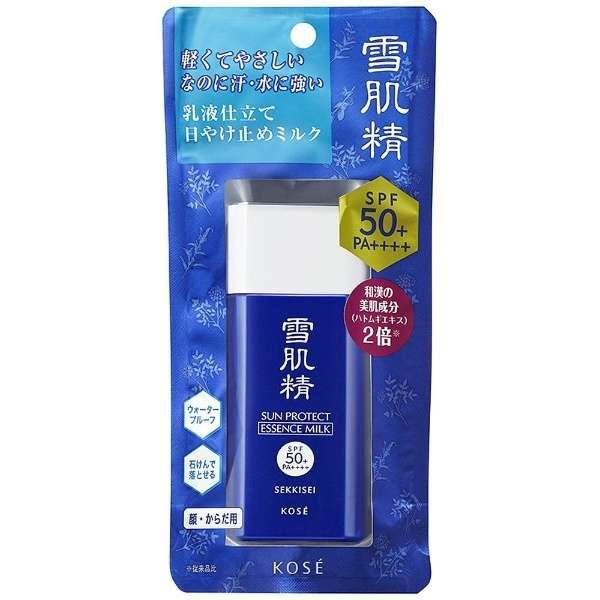 Kem chống nắng Kose Sekkisei Sun Protect Essence Milk SPF50+/PA++++