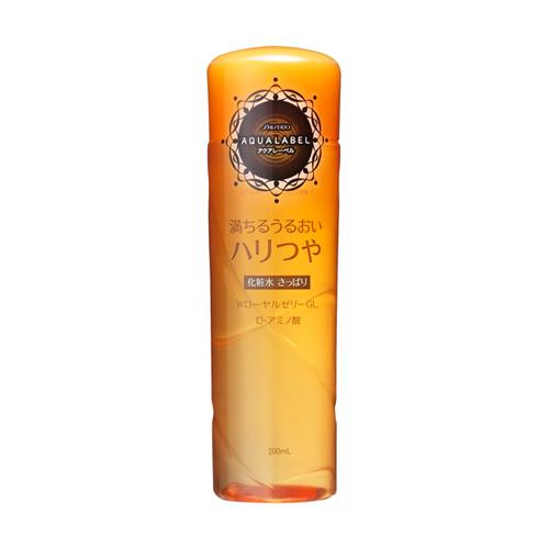 Nước hoa hồng Shiseido Aqualabel moisture essence lotion EX màu vàng