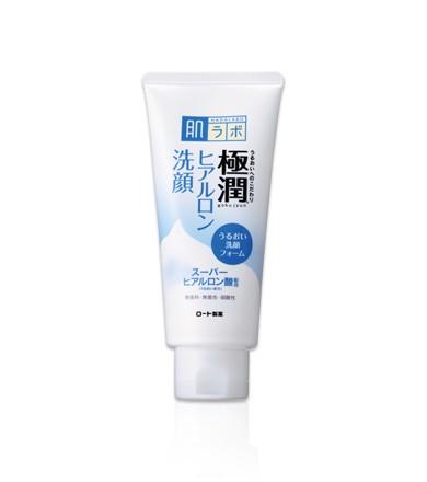 Sữa rửa mặt Hada Labo Gokujyun Face Wash màu trắng