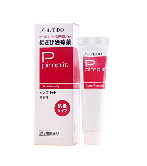 Kem trị mụn Shiseido Pimplit - Nhật Bản trị mụn tận gốc