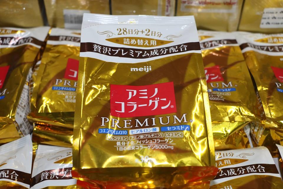 Bột Meiji Collagen Premium 214g