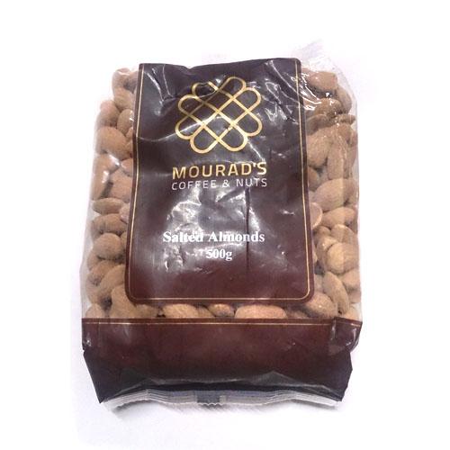 Hạt hạnh nhân Unsalted Almonds Mourad's 500g