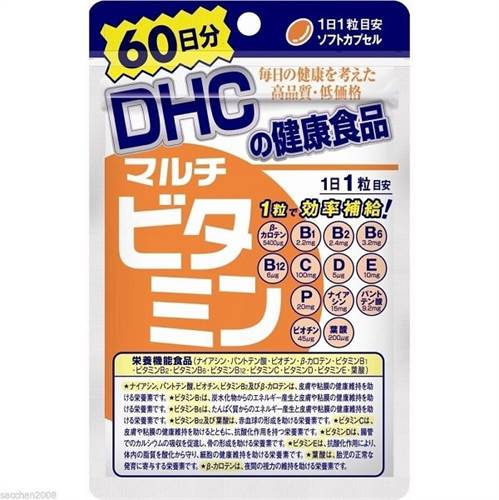 Viên uống DHC Multi bổ sung tổng hợp 12 loại vitamin - gói 60 viên