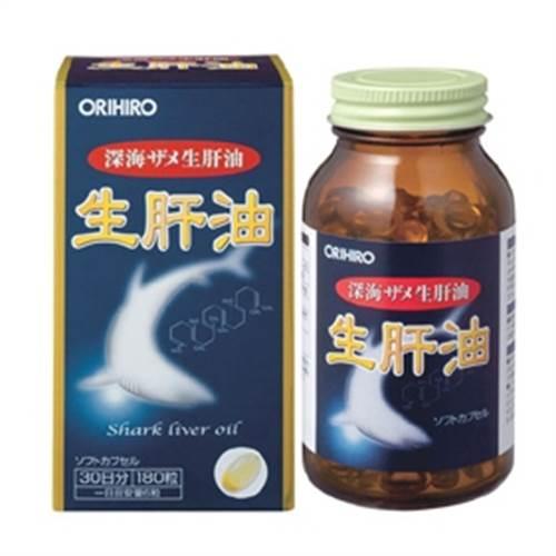 Dầu gan cá mập - Shark liver oil - 180 viên