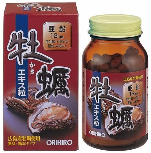 Tinh chất hàu tươi Orihiro - thải độc gan, bổ dương - 120 viên