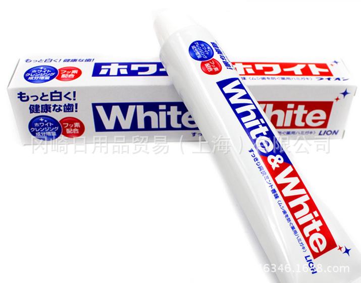 Kem Đánh Răng White and White Lion - Cho hàm răng siêu trắng