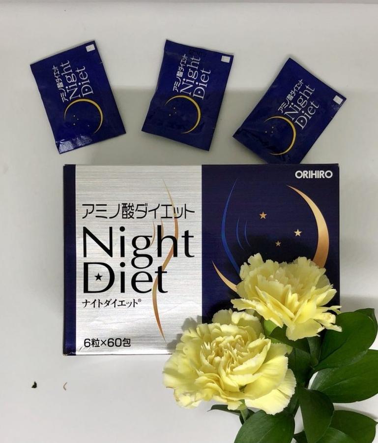 Viên uống giảm cân Night Diet Orihiro cho bạn thân hình lý tưởng