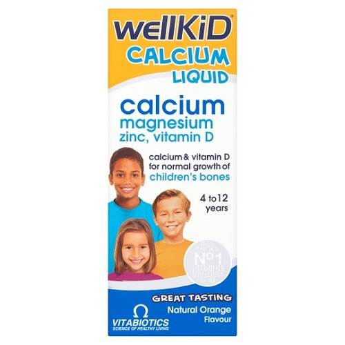 Canxi nước Wellkid Calcium Liquid 150ml