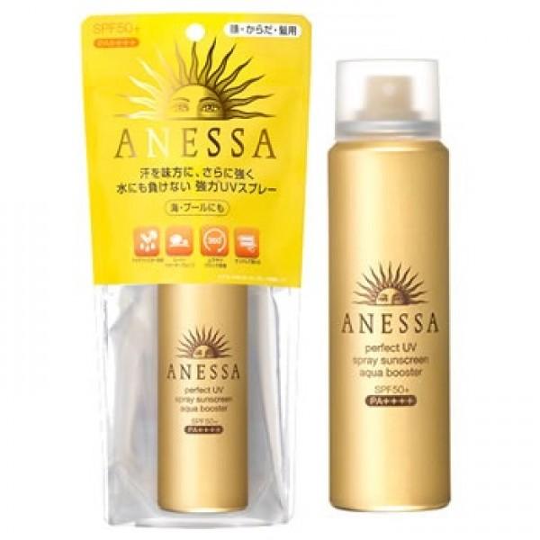 Kem chống nắng Shiseido Anessa SPF50+ dạng xịt 60ml