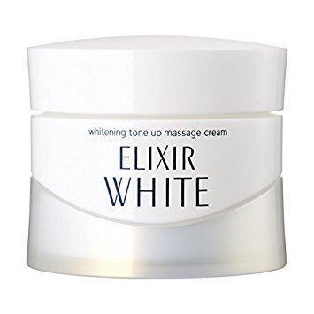 Kem massage làm trắng, chống lão hóa da Shiseido Elixir whitening tone up