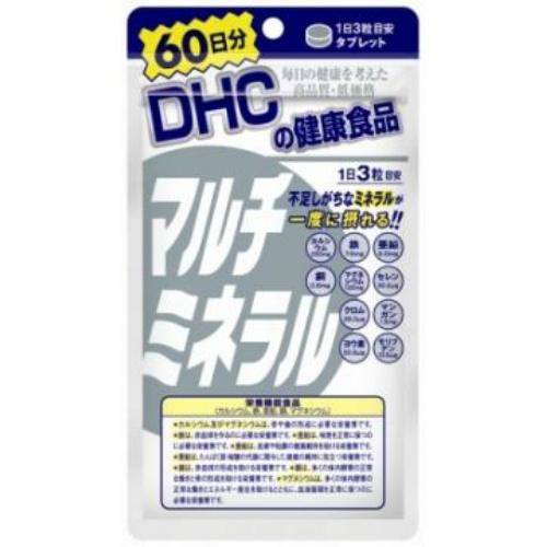 Viên uống bổ sung đa khoáng chất Multi Mineral DHC 180 viên