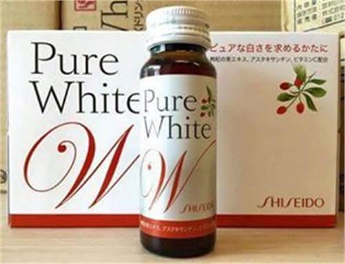 Shiseido Pure white dạng nước - Đẹp và trắng da