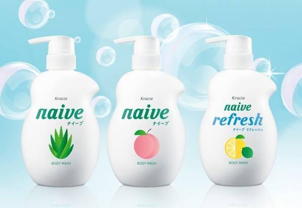 Sữa tắm Kracie Naive Body Wash