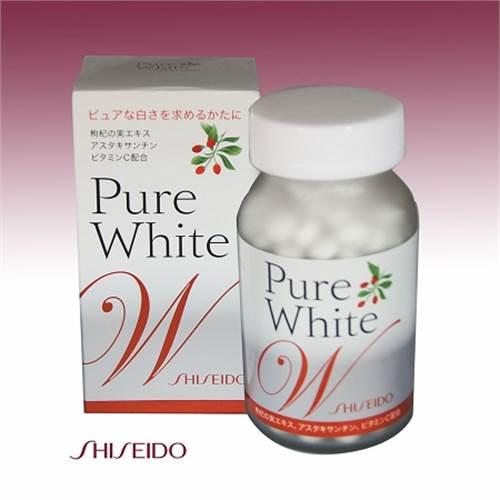 Pure White viên Shiseido - Viên uống trắng da, trị nám