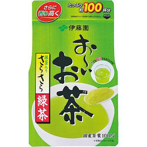 Bột trà xanh nguyên chất gói 80g