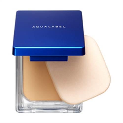 Phấn nền Shiseido Aqualabel màu xanh
