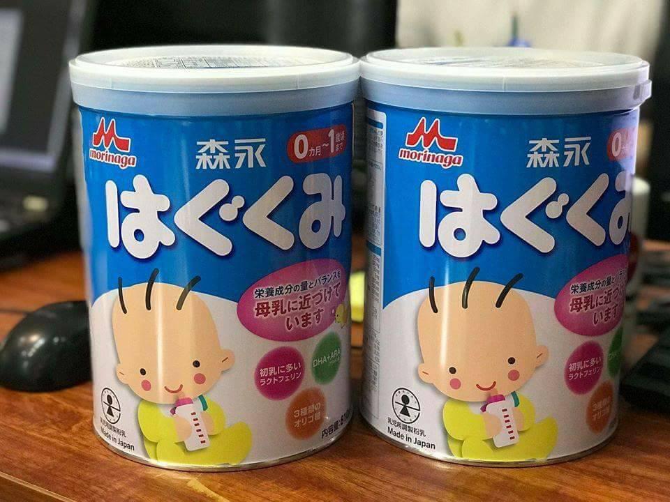 Sữa Morinagasố 0 (810g) - dành cho trẻ từ 0-12 tháng tuổi