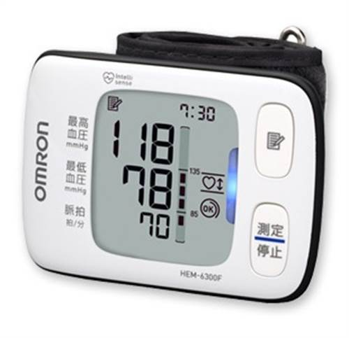 Máy đo huyết áp cổ tay Omron HEM - 6300F bảo vệ sức khỏe