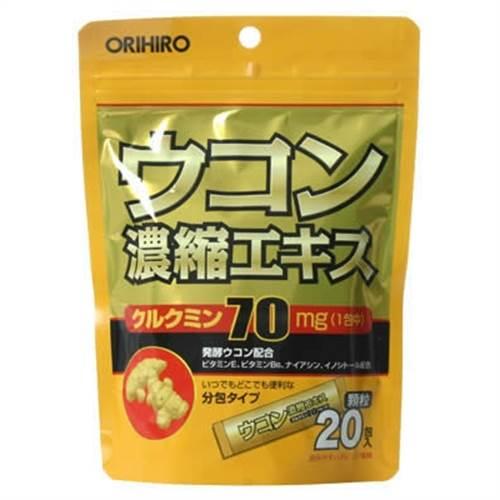 Bột giải rượu nghệ Orihiro 20 gói