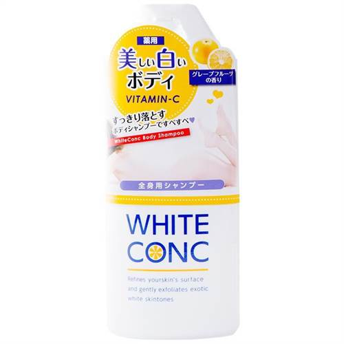 Sữa Tắm Trắng Da White Conc Body 360ml cho da trắng mịn