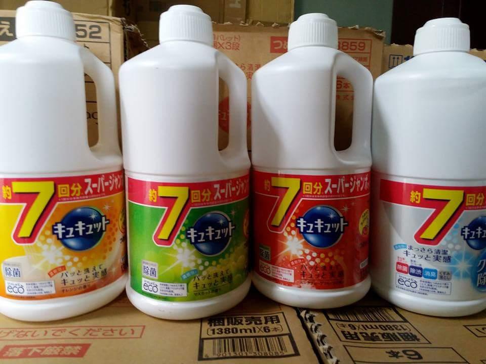 Nước rửa bát Kyukyuto KAO Nhật Bản thân thiện môi trường