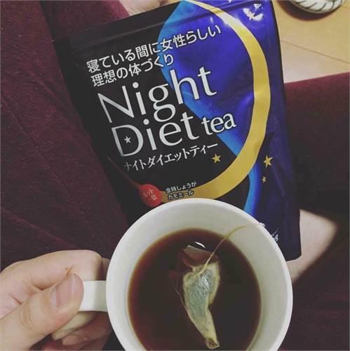 Trà giảm cân night diet tea Orihiro - Cho thân hình eo thon lý tưởng